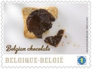 Belgian Chocolate stamp