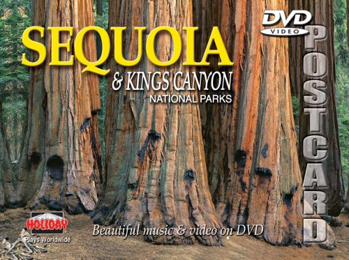 Sequoia & Kings Canyon DVD Postcard