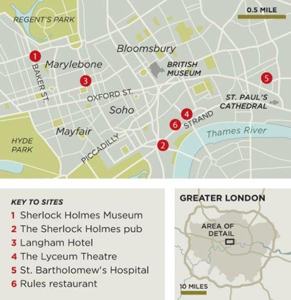 map-of-Sherlock-Holmes-sites-London