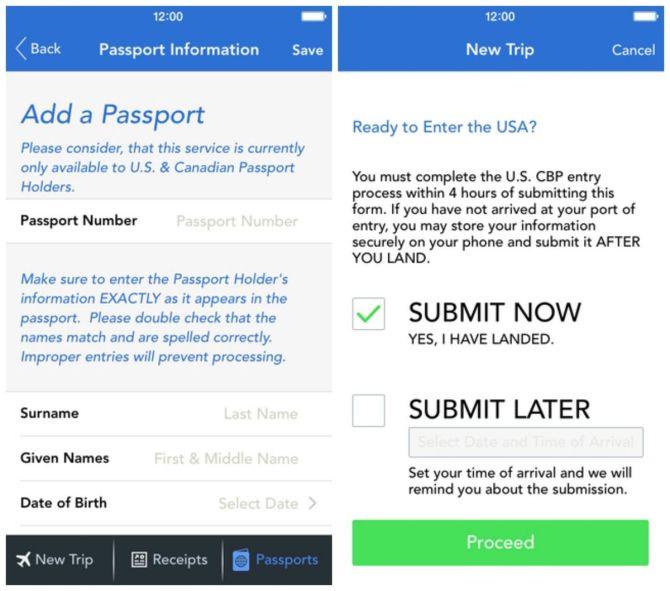 Mobile Passport Add