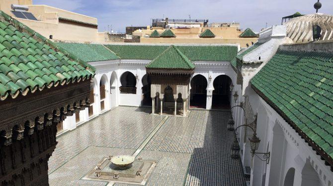 al qarawiyyin library
