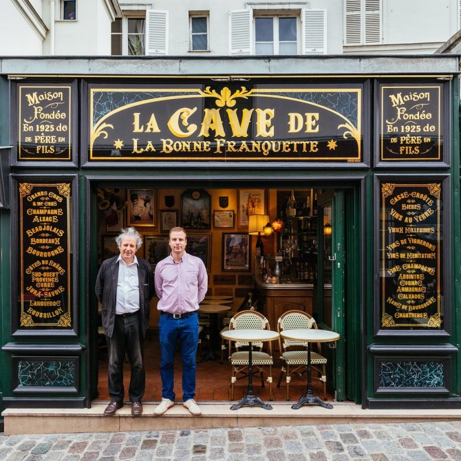 La Cave de La Bonne Franquette Immortalised by Van Gogh in La Guinguette (1886) and a favourite haunt of Degas, Renoir and Monet, this historic Montmartre restaurant has been run since 1971 by Patrick Fracheboud and son Luc. Here you can enjoy cabaret montmartrois, cancan included.