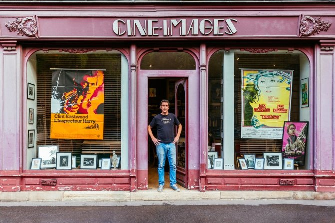 Cine Images Dating back to the 19th century, the gallery turned its focus to cinema in 1976. Run by Alexandre Boyer, it is the oldest gallery in Europe dedicated to film; Martin Scorsese and Spike Lee are fans.