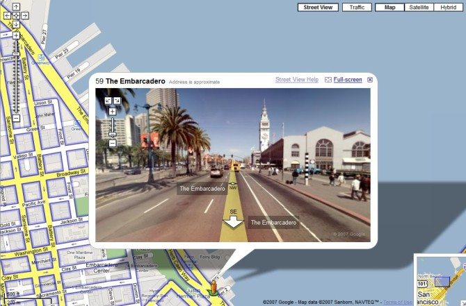 VIRTUAL TRAVEL: Google Maps with Street View